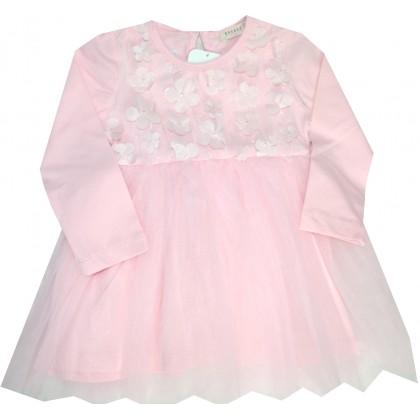 Детска рокля РОЗОВА 86-110 ръст BREEZE.
