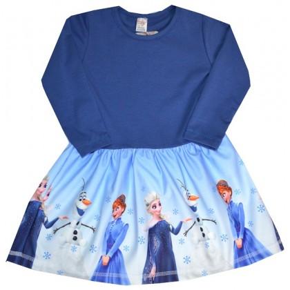 Детска рокля АЕ 92-122 ръст КОД 02.