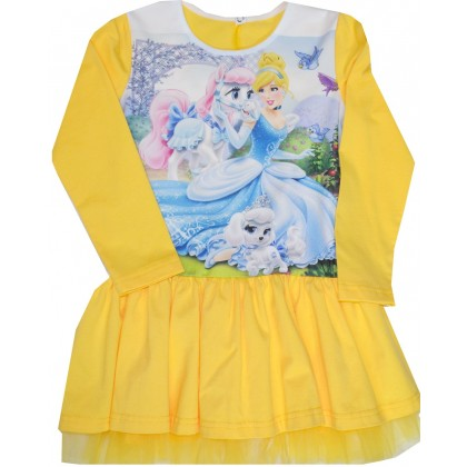 Детска рокля ПРИНЦЕСА 3-6 години.