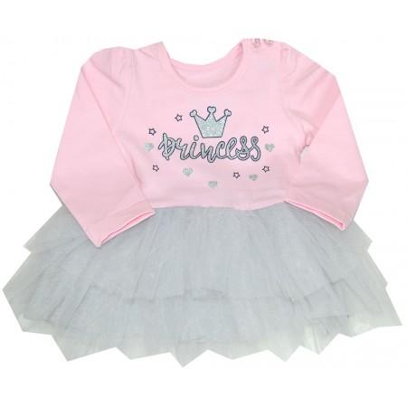 Детска рокля BREEZE ПРИНЦЕСА 68-92 ръст в розово.