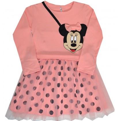 Детска рокля МИНИ МАУС 98-122 ръст на фирма СЕВТЕКС.