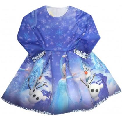 Детска рокля АНА И ЕЛЗА 98-134 ръст.