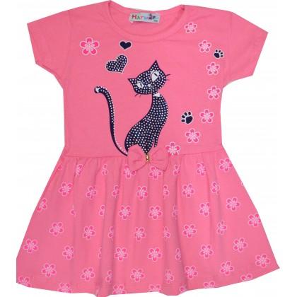 Детска рокля КОТЕНЦЕ 2-5  години.