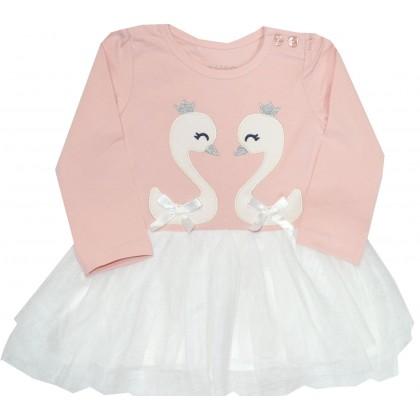 Детска рокля BREEZE 80-104 ръст в розово.