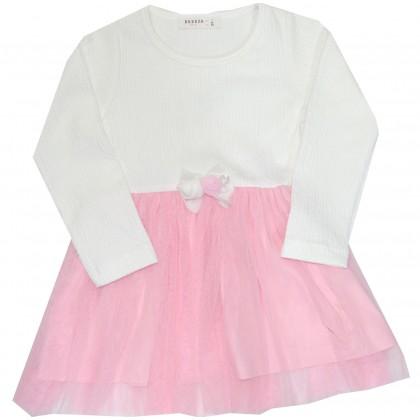 Детска рокля BREEZE 98-128 ръст в розово.