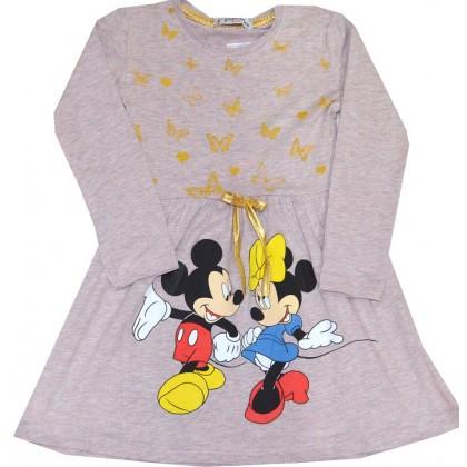 Памучна детска рокля ММ 4-6 години.