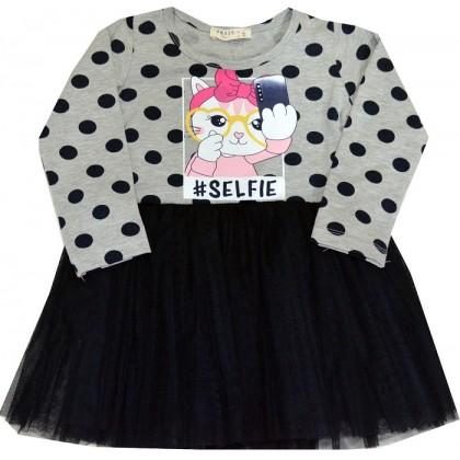 Детска рокля КОТЕ 92-116 ръст.