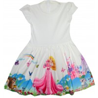 Детска рокля ПРИНЦЕСИ 122 ръст.