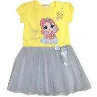 Детска рокля ЛОЛ 3-4 години.