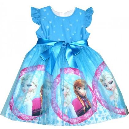 Детска рокля АЕ 4-7 години.