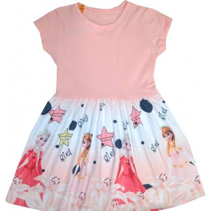 Детска рокля АЕ 116-128 ръст КОД 02.