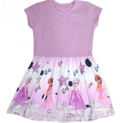 Детска рокля АЕ 104-128 ръст.