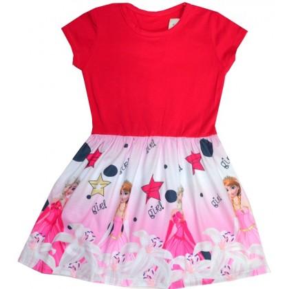 Детска рокля АЕ 116-128 ръст КОД 01.