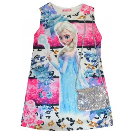 Детска рокля АЕ с чанта 5-7 години.