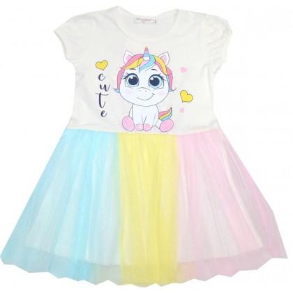 Детска рокля ПОНИ БЕБЕ 98-128 ръст BREEZE.