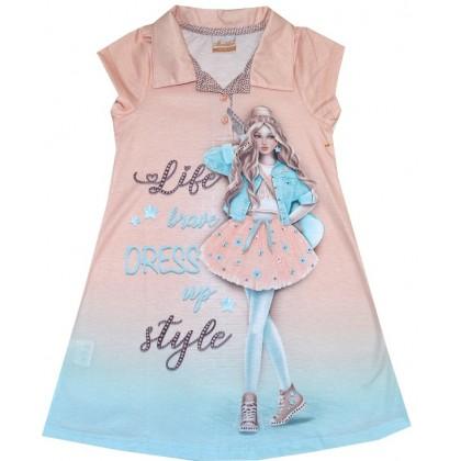 Детска рокля МОМИЧЕНЦЕ 5-8 години.