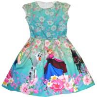 Детска рокля АНА И ЕЛЗА 104-140 ръст