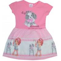 Детска рокля КУЧЕНЦЕ 68-92 ръст.