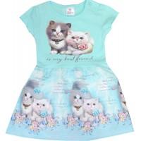 Детска рокля КОТЕТА 68-92 ръст.