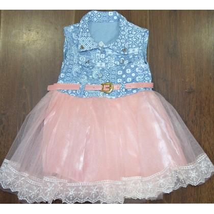 Детска рокля ДЪНКОВА 1-2 години.