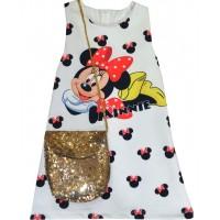 Детска рокля ММ 2-5 години с чанта.