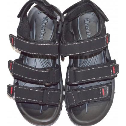 Юношески сандали 36-41 номер в черно.