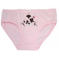 Детски бикини КУЧЕНЦЕ 3-4 години в розово.