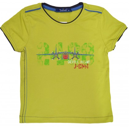 Детска блуза САМОЛЕТИ 92-110 ръст в зелено.