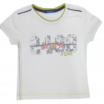 Детска блуза САМОЛЕТИ 92-110 ръст в кремаво.