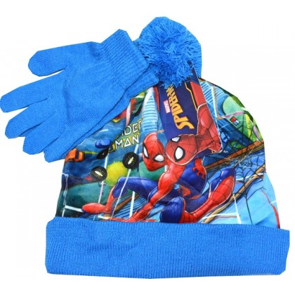 Детска шапка с ръкавици СМ 2-5 години.