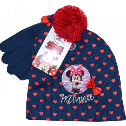 Детска шапка с ръкавици ММ 2-4 години.