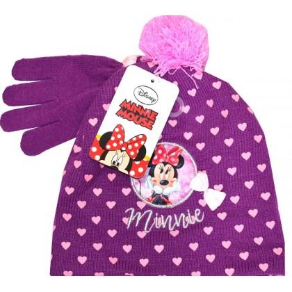 Детска шапка с ръкавици ММ 2-4 години КОД 01.