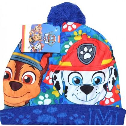 Детска шапка ПЕС ПАТРУЛ 3-6 години  в синьо.