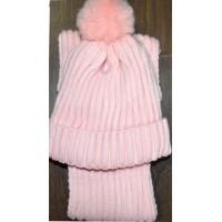 Детски комплект шапка, шал 1-3 години.