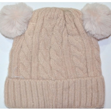 Детска шапка 1-5 години код 01 в кафяво.