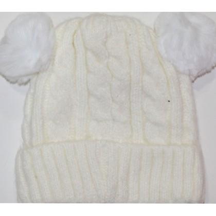 Детска шапка 1-5 години код 01 в бежово.