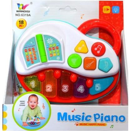 Музикална бебешка играчка ПИЯНО.