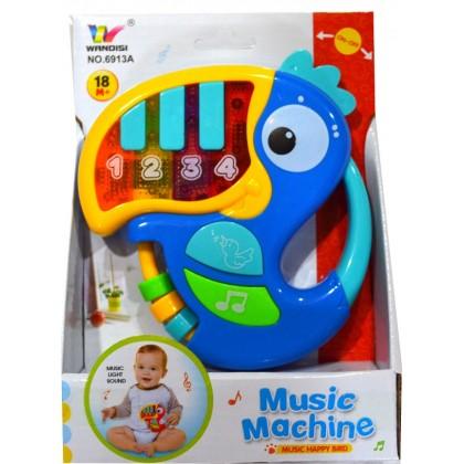 Музикална бебешка играчка КЪЛВАЧ.