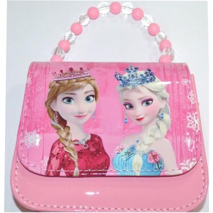 Детска чанта А 16/13см в розово КОД 01.