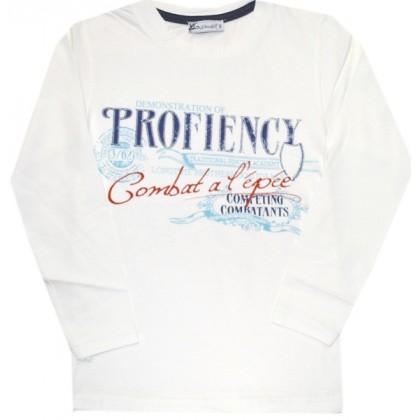 Детска блуза *TROFIENCY* 116-134 ръст в бежово.