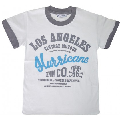 ДЕТСКА БЛУЗА *LOS ANGELES* 116-134 РЪСТ.