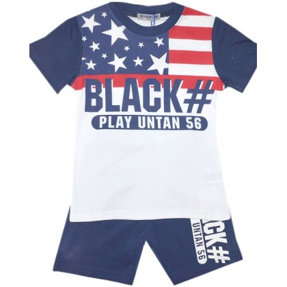 Детски комплект BLACK 3-8 години.
