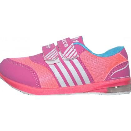 Светещи маратонки *РОЗОВИ НЕОН* 26-29 номер в розово.
