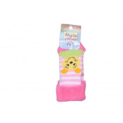Бебешки чорапки МЕЧЕ РАЕ от 0-12 месеца.