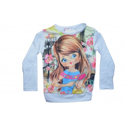 Детска блузка Принцеса 2- 6 години.