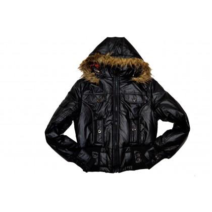 Дамско яке в черно.