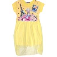 Детска рокля ЕЛЗА В ПАРИЖ 98-122 ръст.